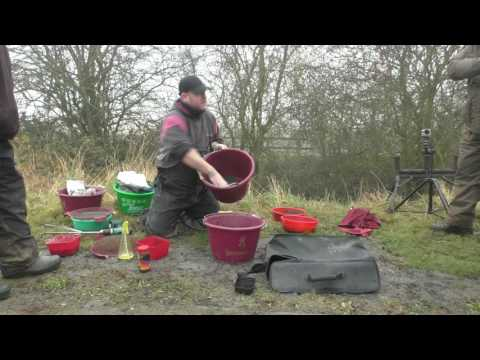 Masterclass with Carl Shepherdson blood worm and joker on the canal
