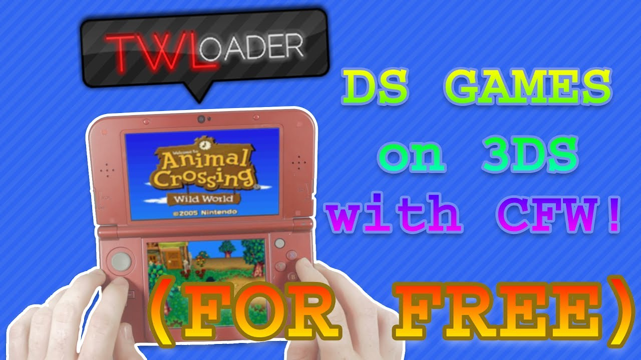 HOW TO PLAY DS GAMES ON 3DS FOR FREE (2017)