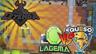 LIGA ROYALE: Team Queso vs La Gema | Clash Royale