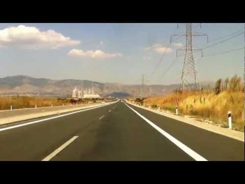 Greece: A2(Egnatia Odos) Ioannina - Thessaloniki ~ PART 2(Kozani - Thessaloniki)