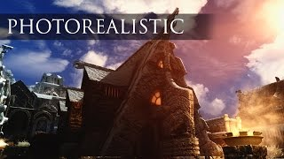 Insane Photorealistic Graphics! - Best Skyrim SE Graphics And Visual Mods