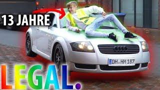 MINDERJÄHRIG AUTO FAHREN (13 Jahre - Legal) - DailyVlog 63