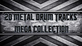 20 Metal Drum Tracks Mega Collection (HQ,HD)