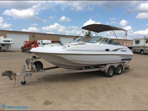 2000 Godfrey Marine Hurricane SD217 Deckboat | For Sale | Online Auction