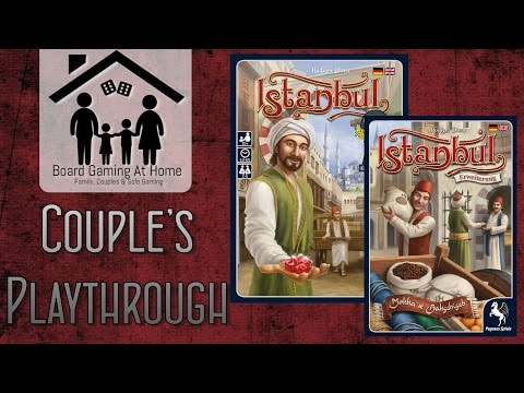 Istanbul Playthrough (with Mocha & Baksheesh) (Board Game Gameplay Overview, Runthrough & Review)
