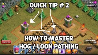 How To Master Hog/Loon Pathing | Mister Clash | Clash of Clans