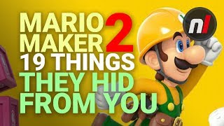 19 Secret Details Hidden In Super Mario Maker 2 Direct Presentation
