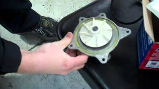 Dodge or Chrysler minivan  3.3 or 3.8 v6 water pump Tutorial