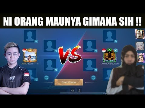 REAL By One Fanny !!! Zxuan VS NOOB QUEEN My Lord