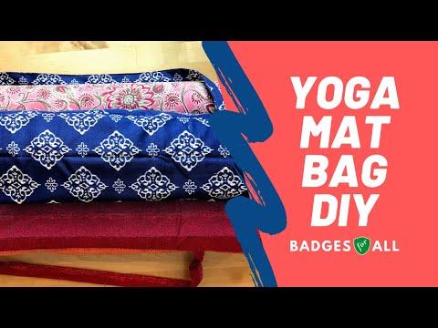 Diy Yoga Mat Bag Badges For All