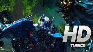 Transformers 5Son Şovalye  Optimus Prime vs Infernocus  1080p HD  TÜRKÇE