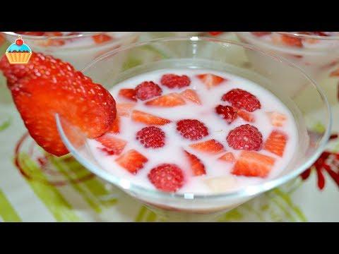 Фруктово йогуртовое желе