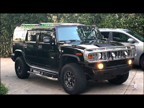 How To Replace Fuse Bulb on HUMMER