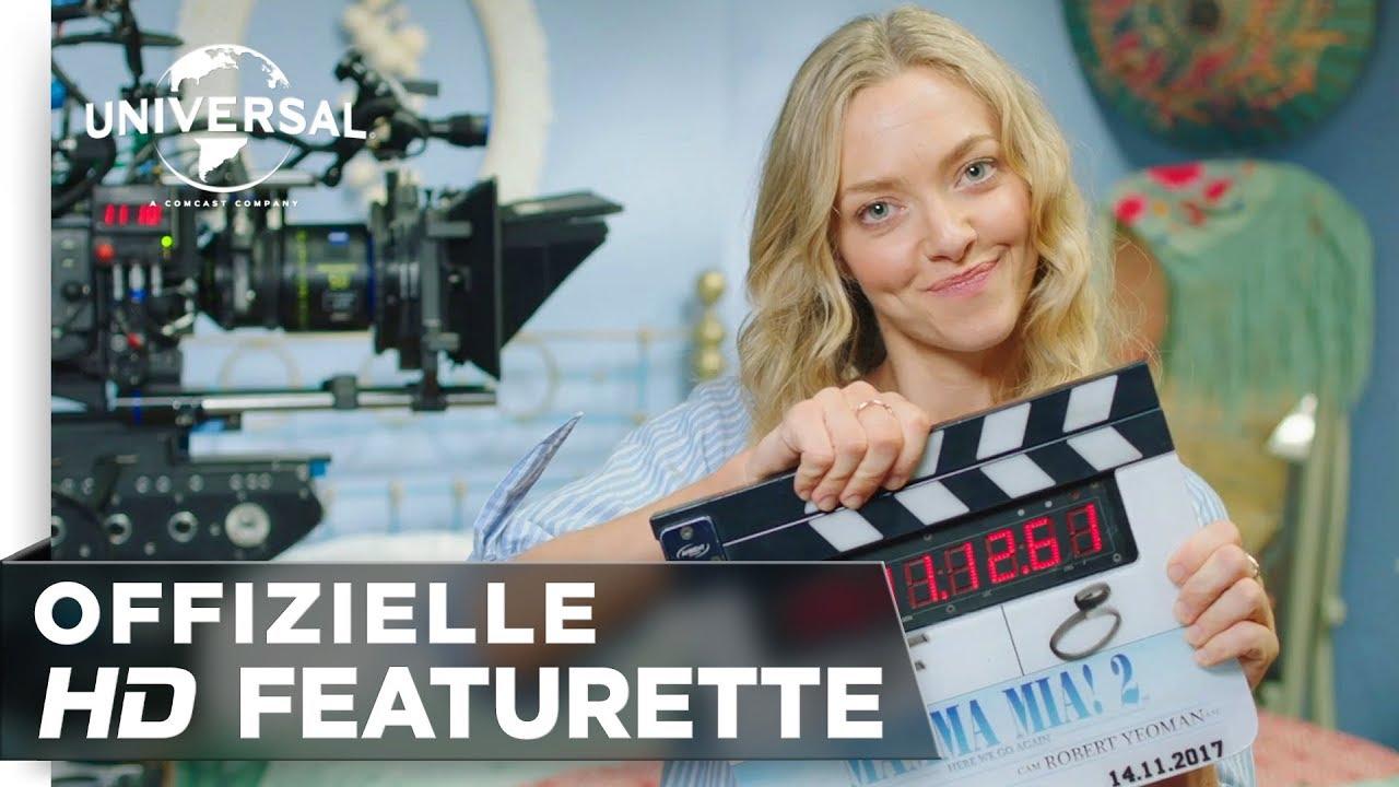 "Mamma Mia! Here We Go Again - Featurette ""It's a Wrap"" deutsch/german"