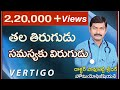 తల తిరుగుడు సమస్య త్వరగా తగ్గాలంటే l Vertigo Treatment | in Telugu By Dr. Pavushetty Sreedhar