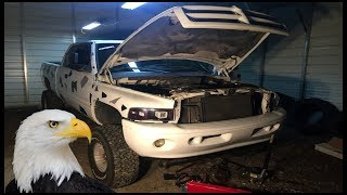 "RIPPING OUT LIFTED RAM STEERING BOX ""COLOSSUS"""