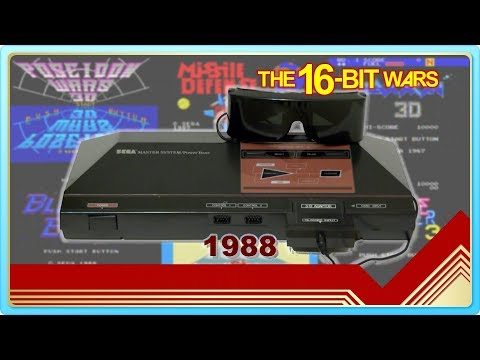 SegaScope 3-D for Sega Master System // Famicom Dojo / Retro History