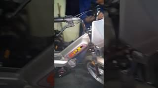 12 sene depoda kalmış Sıfır bisan peugeot pejo moped 103 spxl mobylette mobiletin ilk çalıştırılması