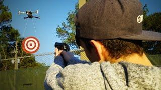DESAFIO DA AIRSOFT COM NOSSO NOVO DRONE ‹ Neagle ›