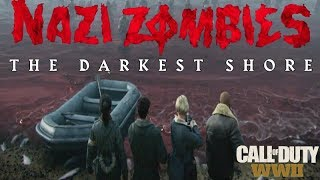 """""""The Darkest Shore"""" Intro Cutscene - Call of Duty WWII DLC 1 Zombies Opening Cinematic"""