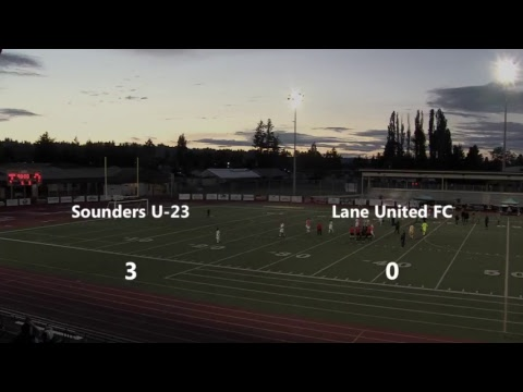 Seattle Sounders U23 vs Lane United at Sunset Stadium