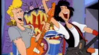Bill & Ted's Excellent Adventure Cartoon Intro (1990)