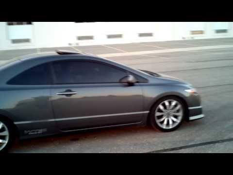 2011 Honda Civic Si - Invidia N1 70mm catback driveby