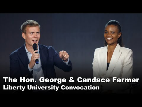 The Honorable George & Candace Farmer- Liberty University Convocation