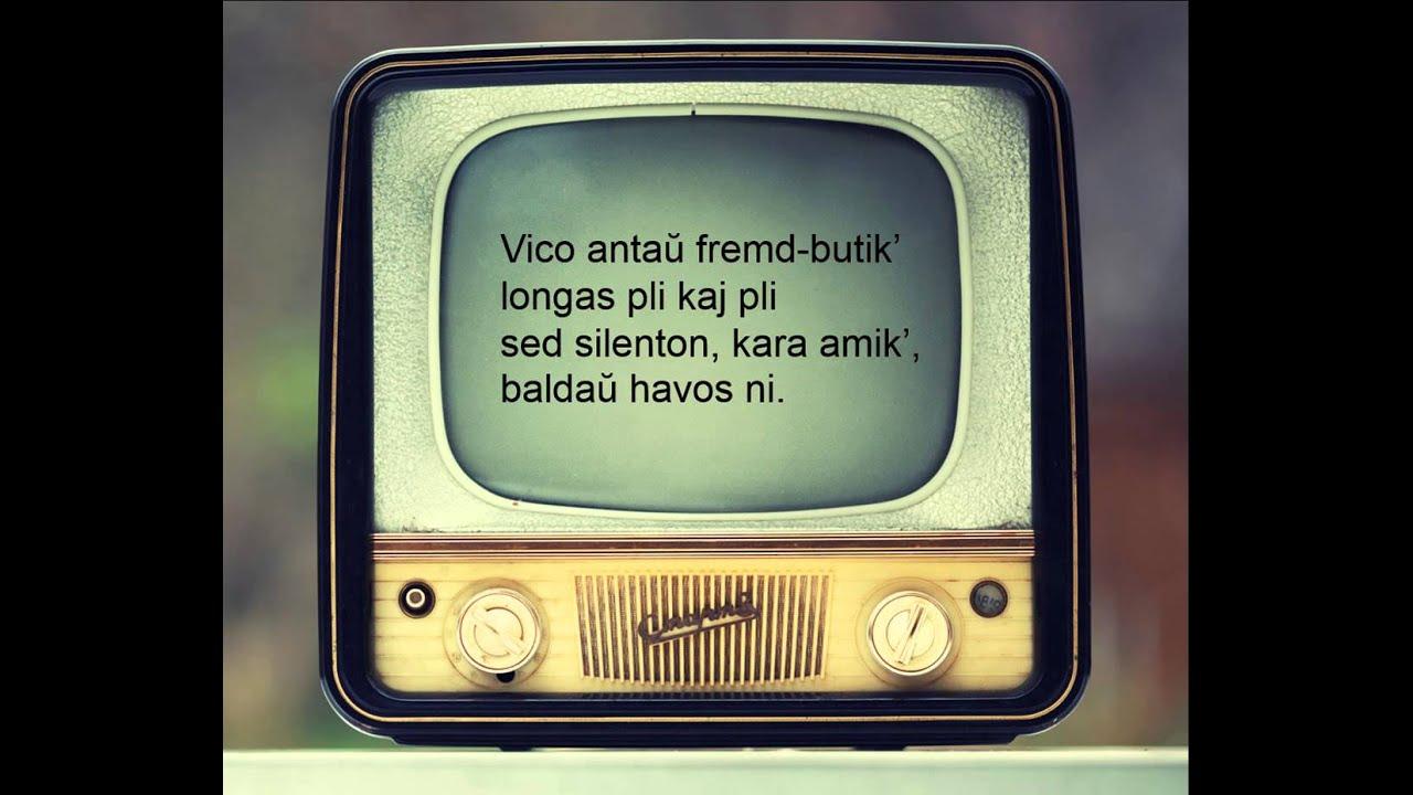 Reklamo al silento - Team' (Reklama na ticho en Esperanto) - Esperanto music