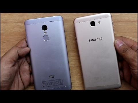 Xiaomi Redmi Note 4 Vs Samsung J7 Prime SpeedTest Comparison I Hindi