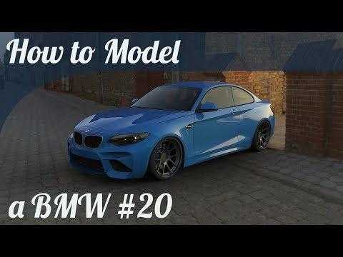3D Car Modeling Tutorial pt.20 | Modeling a BMW