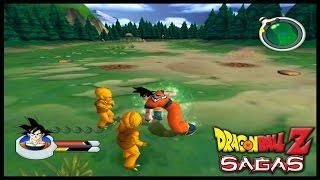 Dragon Ball Z SAGAS - Modo História