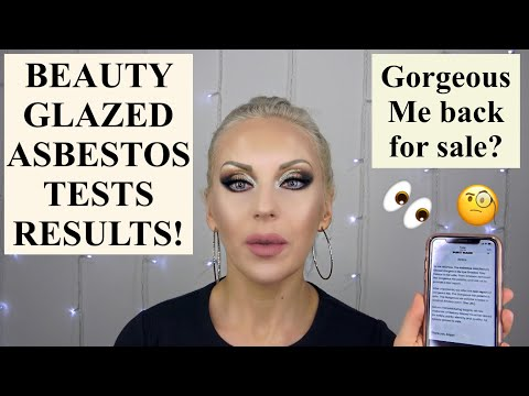 beauty-glazed-statement,-asbestos-test-results-update