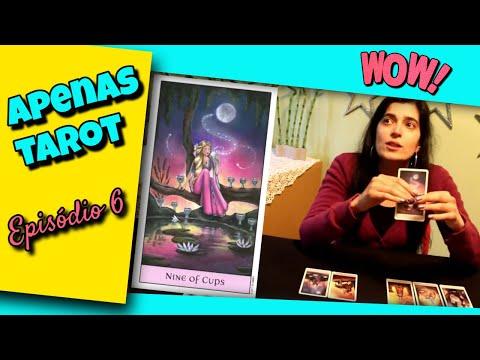 Patrícia Monteiro - Leitura de Cartas - Apenas Tarot - Episódio 6