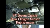 ⭐ 2003 Toyota Camry - 2 4 - Replacing The Downstream O2 Or