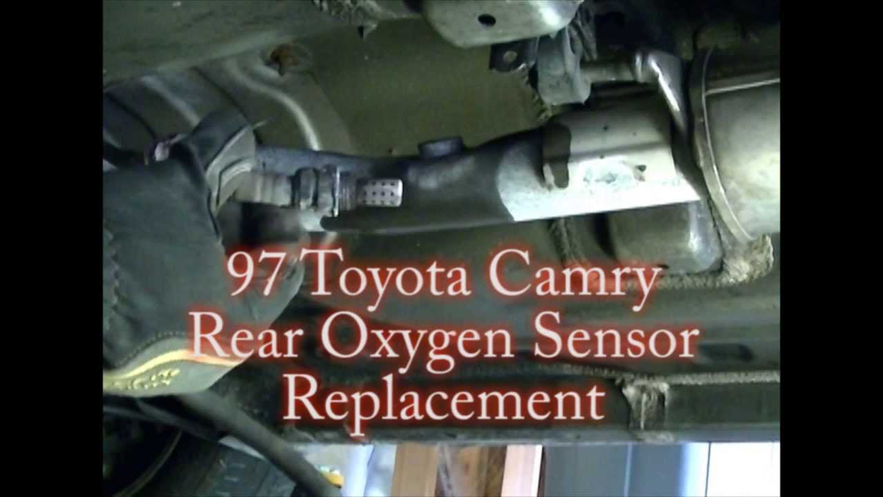 small resolution of 1997 toyota camry v6 rear downstream oxygen o2 sensor remove replace youtube