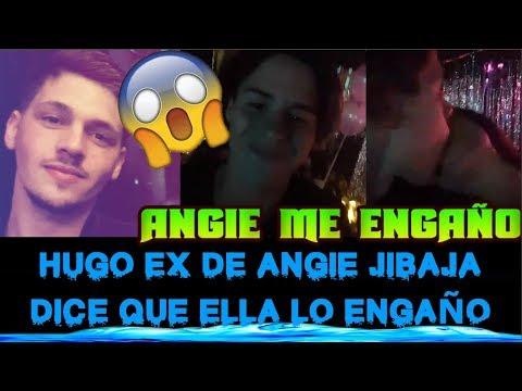HABLA EL EX DE ANGIE JIBAJA, HUGO Y DICE QUE ANGIE LO ENGAÑÓ