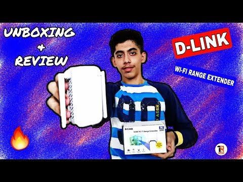 D-LINK (Wi-Fi Range Extender) UNBOXING +REVIEW 🔥🔥🔥 || TECHY RAO ||
