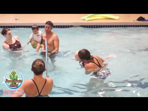 Parent Tot Swimming Lessons - 10 to 35 Months