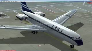 Flying the Just Flight VC10 in FSX   Part 2