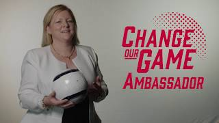 Change Our Game Ambassador - Stella Smith