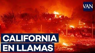 El incendio en California arrasa a un pueblo