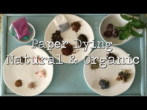 Dying Papers | Natural & Organic | Adeline Country Cottage