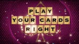 New Play Your Cards Right Titles (Pilot)