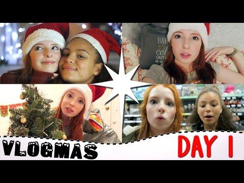 Vlogmas Day 1 2016, Poundland Christmas Decorations / Duvets, Xmas Car Karaoke, Vlogmas | NiliPOD