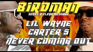 birdman tells lil wayne carter 5 is never coming out subliminally on ig   jordantowernes