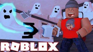 I become Ghost HUNTER l Roblox PHANTOM Simulator