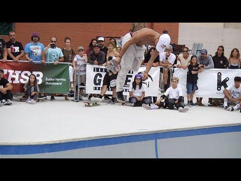 ronda ganadora danny leon - Olabeaga - Final Circuito Nacional Skateboard