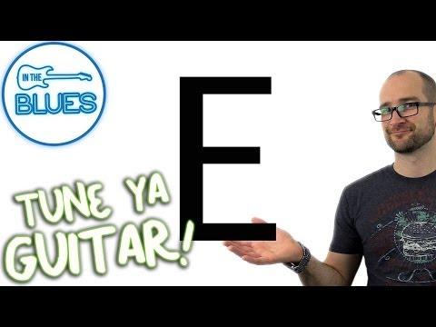 guitar tuner: standard guitar tuning