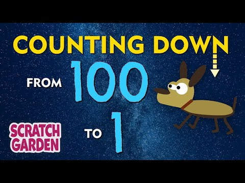 The Counting Down from 100 Song  Scratch Garden